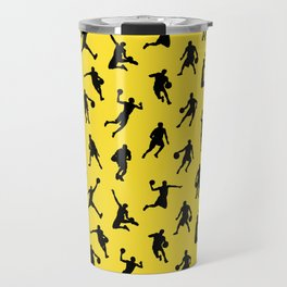Basketball Players // Lemon Travel Mug