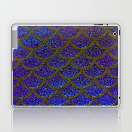 Dandelion Denim Scales Laptop & iPad Skin