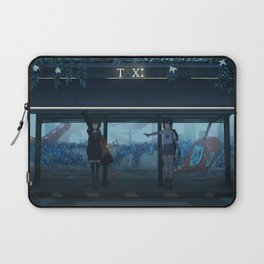 Girls Original Artwork Laptop Sleeve