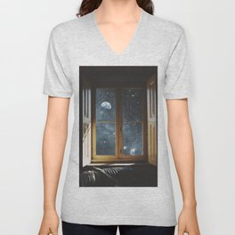 WINDOW TO THE UNIVERSE Unisex V-Neck