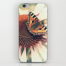 The Butterfly and the Flower iPhone Skin
