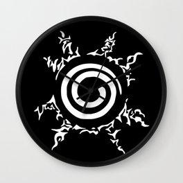Anime Manga Cursed Seal Wall Clock