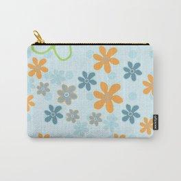 Handbag Heaven Blues - detail Carry-All Pouch