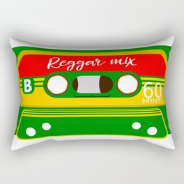 REGGAE MIX TAPE Rectangular Pillow