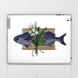 Seafood Series : Paperbark Blue Cod Fish Laptop & iPad Skin