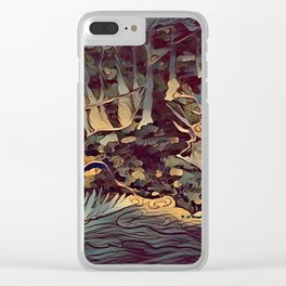 """"""" The Hunt """" Clear iPhone Case"""
