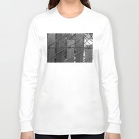 postcard Long Sleeve T-shirts featuring Postcard Perfect by David A Simon