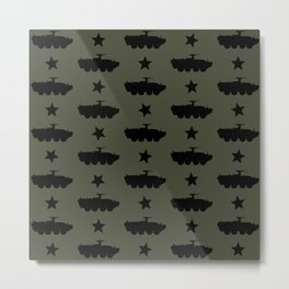 M1126 Stryker Pattern Metal Print