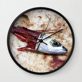 Fish Bait Wall Clock