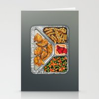 eat Stationery Cards featuring Eat Me by Rachel Caldwell