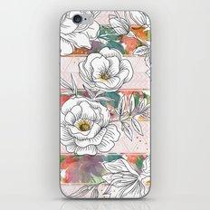 Pattern flower geometric iPhone & iPod Skin