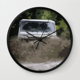 Land Rover Offroad 1 Wall Clock