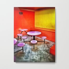 The Waiting Room Metal Print