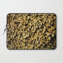 Wood Pile Painterly Laptop Sleeve