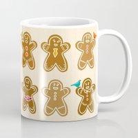 ginger Mugs featuring Ginger by Kakel