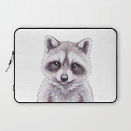 Baby Raccoon, Cute Baby Animals, Woodland Nursery Decor Forest Animals Gifts Laptop Sleeve