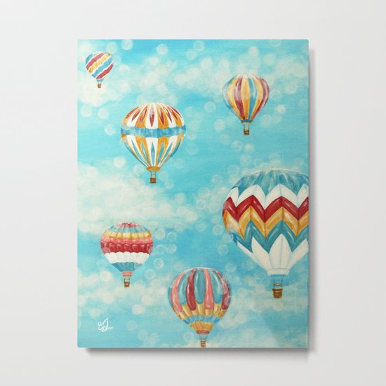 Hot Air Balloons 1 Metal Print