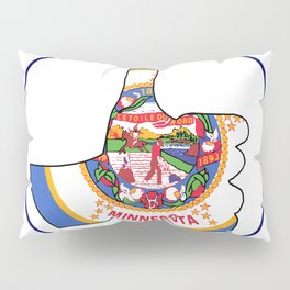 Thumbs Up Minnesota Pillow Sham