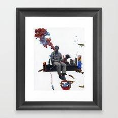 Hidden Waters Framed Art Print