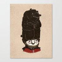 bears Canvas Prints featuring Bears by Ronan Lynam