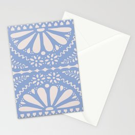 Fiesta de Flores Serenity Blue Stationery Cards