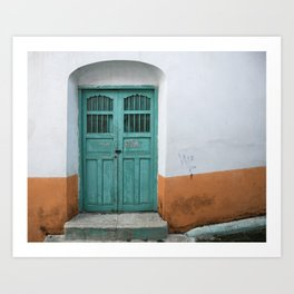 Doors of Antigua II Art Print