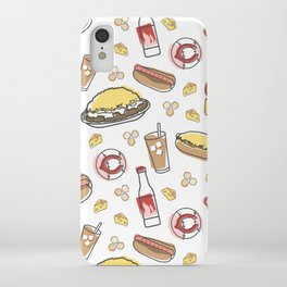 Skyline Chili Pattern Color iPhone Case