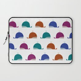 Cute Whales Laptop Sleeve