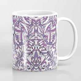Colorful Intricate Geometric Tribal Pattern Coffee Mug