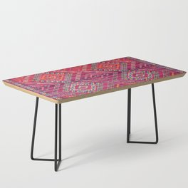 N118 - Pink Colored Oriental Traditional Bohemian Moroccan Artwork. Coffee Table
