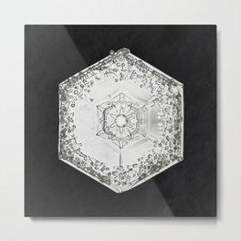 Pattern Textile Metal Print