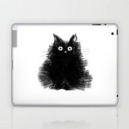 Duster - Black Cat Drawing Laptop & iPad Skin