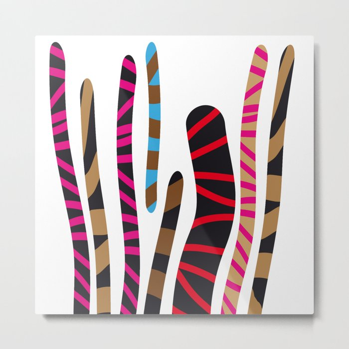 colored sticks 2 Metal Print
