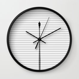 Up The Stair Wall Clock