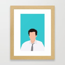 Ted Mosby from HIMYM Framed Art Print
