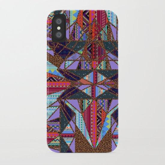 RETRO KALEIDOSCOPE //TWO iPhone Case