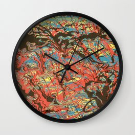 Flipping Comics Wall Clock