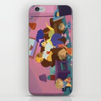 simpsons iPhone & iPod Skins featuring The Simpsons by Ann Marcellino