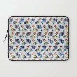 Turkish tulip - Ottoman tile pattern 1 Laptop Sleeve