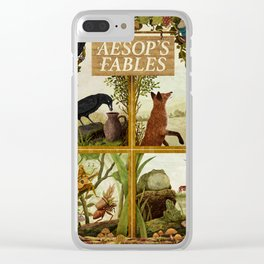 Aesop's Fables Clear iPhone Case