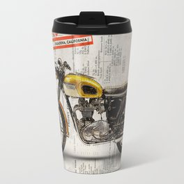 Triumph Bonneville T120 1964 Travel Mug