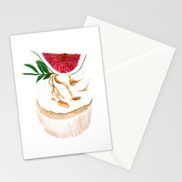 Fig Cupcake Stationery Cards
