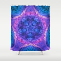 wave Shower Curtains featuring Wave  by Jellyfishtimes