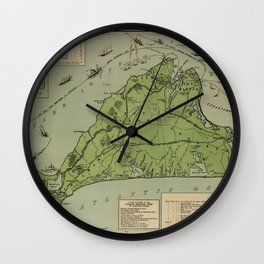 Martha's Vineyard 1913 Wall Clock