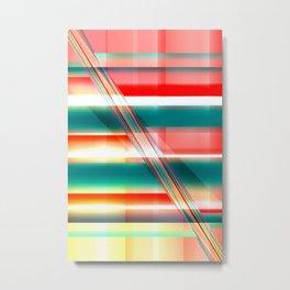 Pattern pastell Metal Print