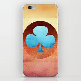 Ace of Trefoil III iPhone Skin