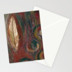 Zen Feather Stationery Cards