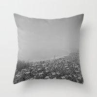 san diego Throw Pillows featuring San Diego by Jessica Milligan