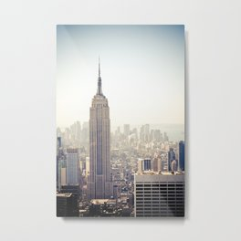 New York City | Empire State Building Metal Print