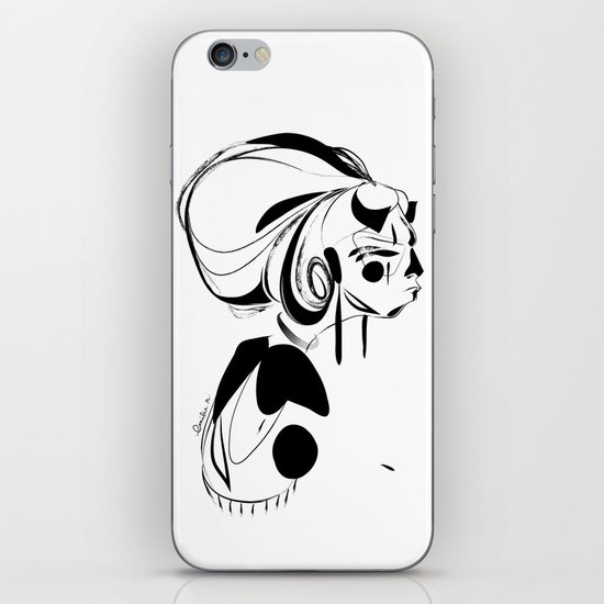 Every second is a handful of dirt - Emilie Record iPhone & iPod Skin